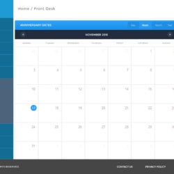 dashboard-Aniversary-calendar
